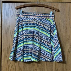 Mossimo Patterned Skirt, Small